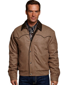 Cripple Creek Wool with Contrasting Piping Jacket, Tan, hi-res