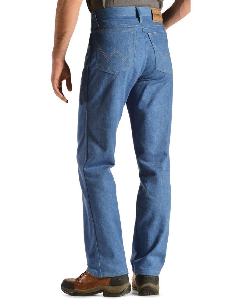 Wrangler Rugged Wear Stretch Regular Fit Jeans, Light Blue, hi-res