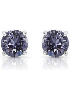 Montana Silversmiths Women's Gleaming Twilight Earrings, Silver, hi-res