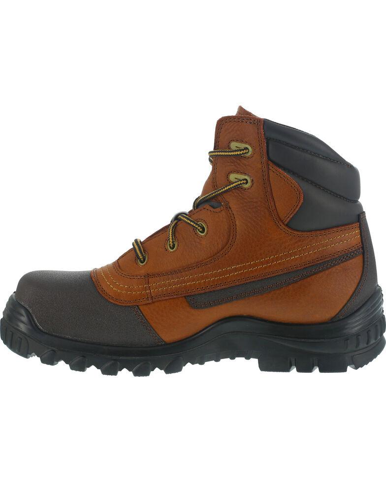 """Iron Age Men's 6"""" Waterproof Boots - Steel Toe , Brown, hi-res"""