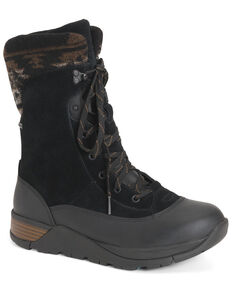 Muck Boots Women's Arctic Apres II Work Boots - Soft Toe, Black, hi-res