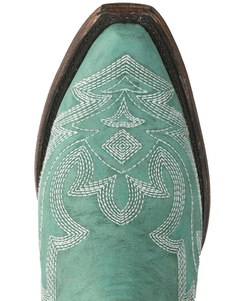 Lane Women's Saratoga Western Boots - Snip Toe, Turquoise, hi-res