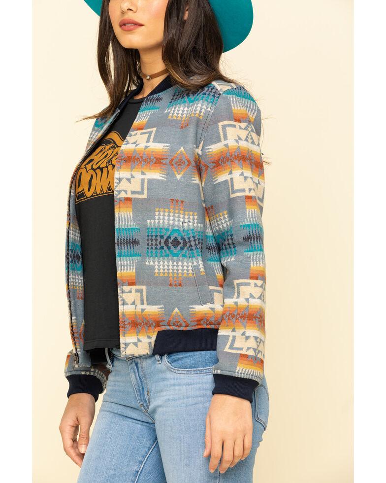 Pendleton Women's Wool Aztec Bomber Jacket, Multi, hi-res