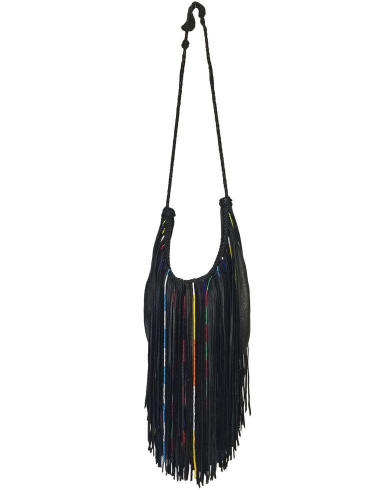 Kobler Leather Women's Gypsy Crossbody Bag, Black, hi-res