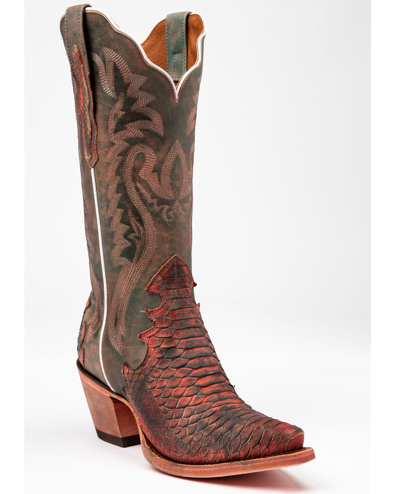 Dan Post Women's Lauryn Western Boots - Snip Toe, Grey, hi-res