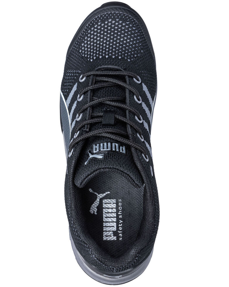 Puma Women's Celerity Knit Work Shoes - Steel Toe, Black, hi-res