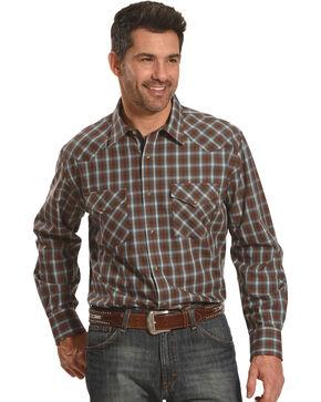 Pendleton Men's Brown Frontier Long Sleeve Shirt , Brown, hi-res