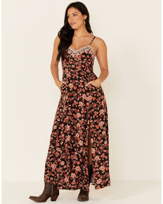 Idyllwind Women's Lost Romance Maxi Dress, Black, hi-res