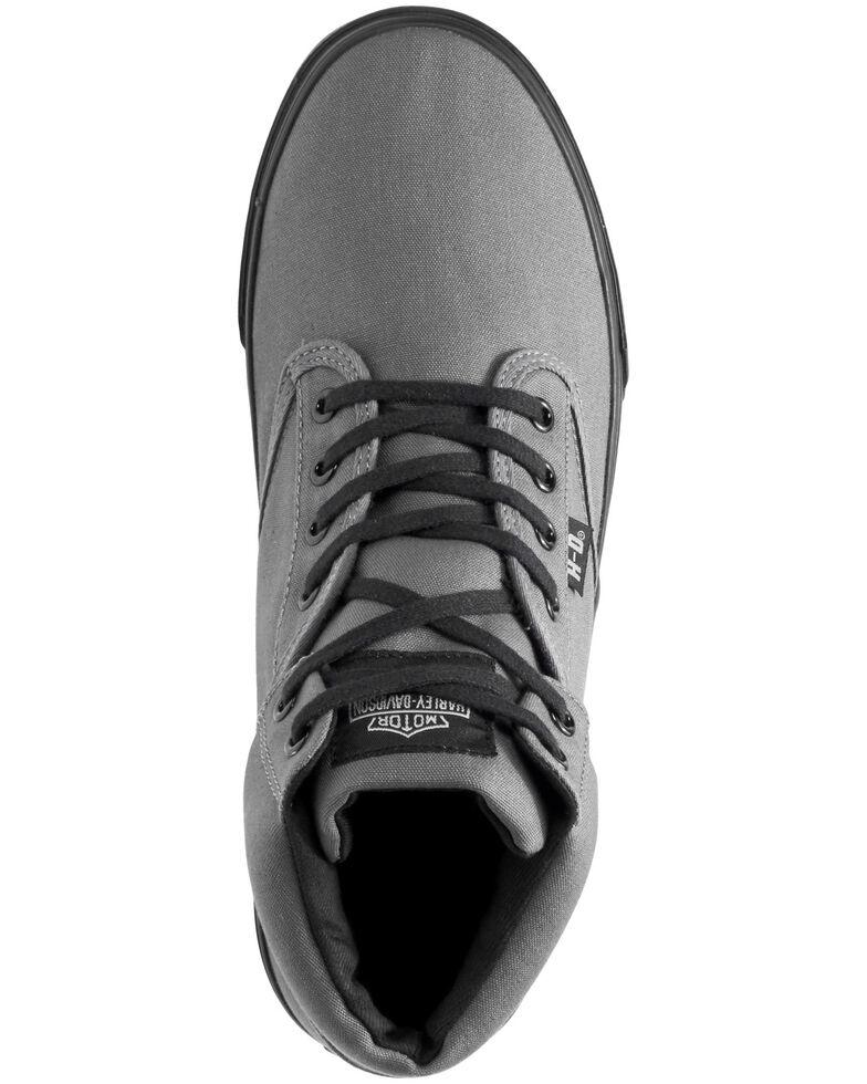Harley Davidson Men's Wrenford Moto Shoes, Grey, hi-res