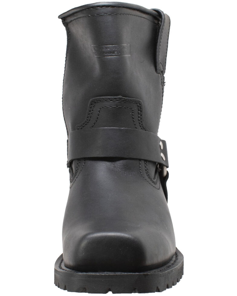 """RideTecs Men's 7"""" Zipper Western Boots - Square Toe, Black, hi-res"""