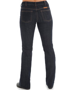 Cowgirl Tuff Women's Dark Wash Bootcut Jeans , Blue, hi-res
