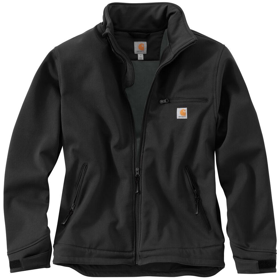 Carhartt Men's Crowley Work Jacket, Black, hi-res
