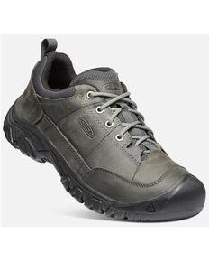 Keen Men's Castor Evening Grey Targhee III Oxford Casual Lace-Up Hiking Shoe , Dark Grey, hi-res