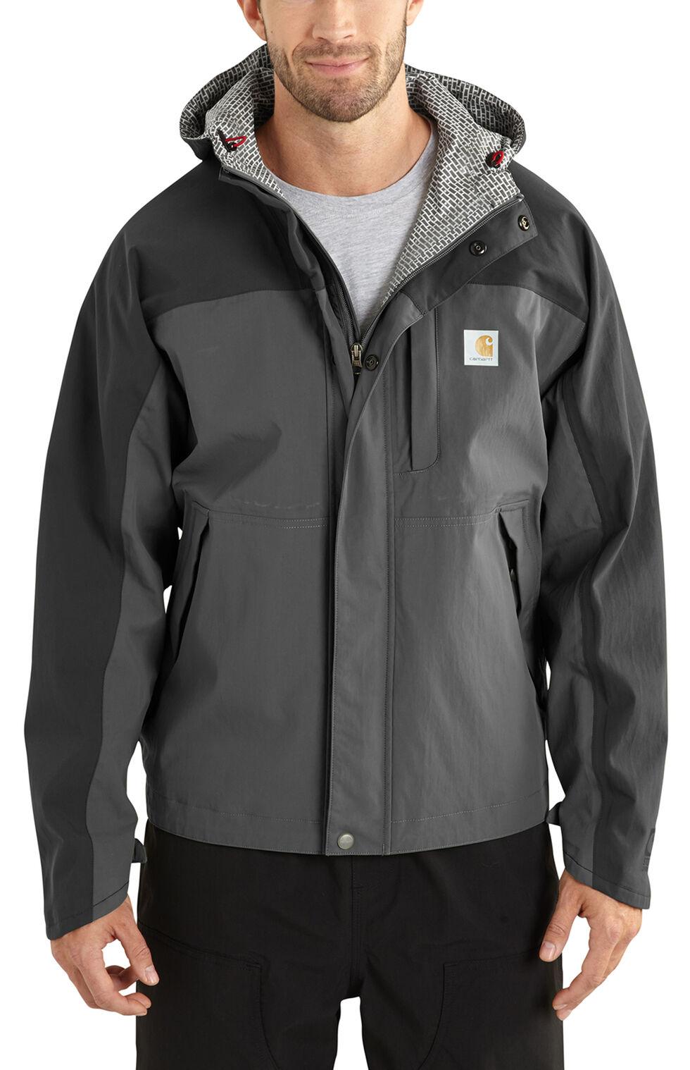 Carhartt Waterproof Breathable Shoreline Jacket, Grey, hi-res