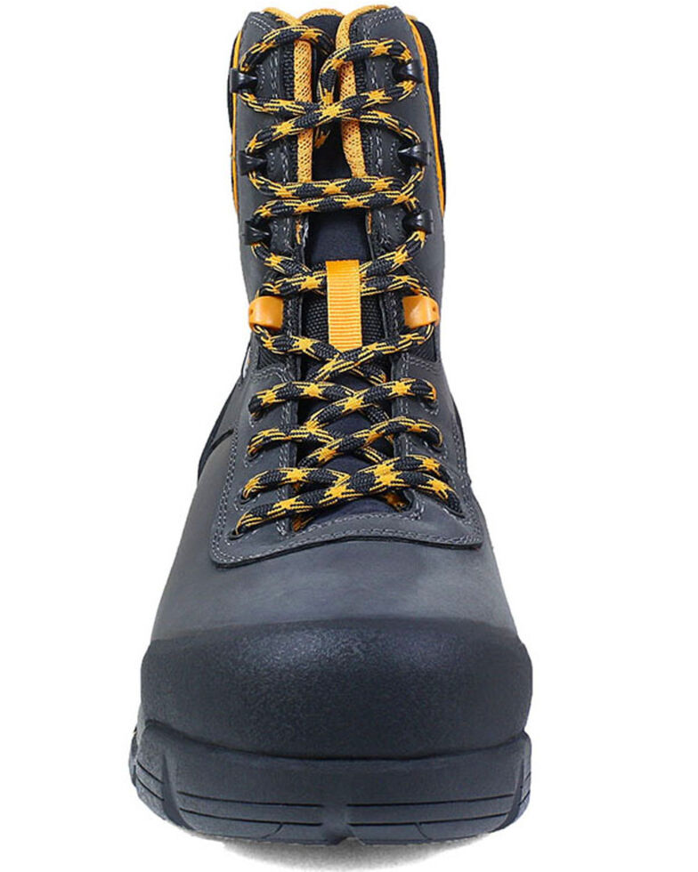 Bogs Men's Bedrock Insulated Work Boots - Composite Toe, Black, hi-res