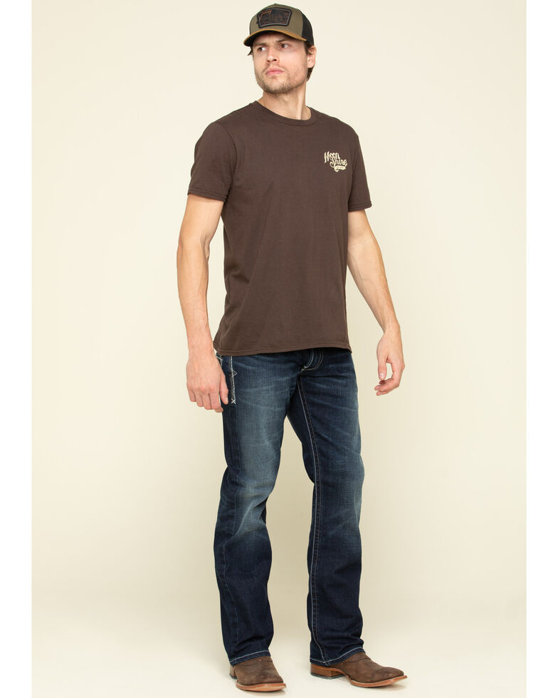 Ariat Men's M5 Nightingale Dark Stretch Stackable Slim Straight Jeans, Blue, hi-res