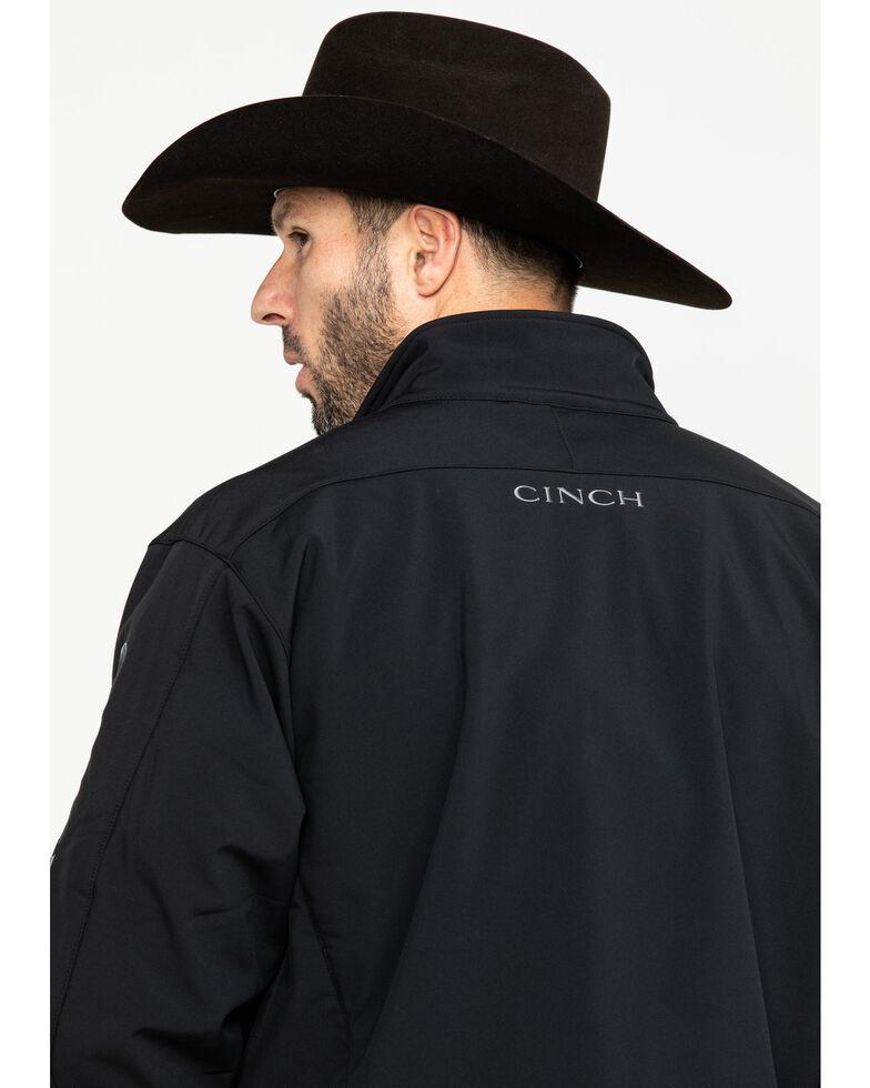 Cinch Men's Black Concealed Carry Bonded Jacket, Black, hi-res