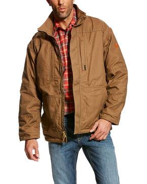Ariat Men's FR Workhorse Jacket - Big & Tall, Beige/khaki, hi-res