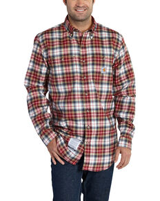 Carhartt Men's Flame Resistant Classic Plaid Shirt - Big & Tall, Multi, hi-res