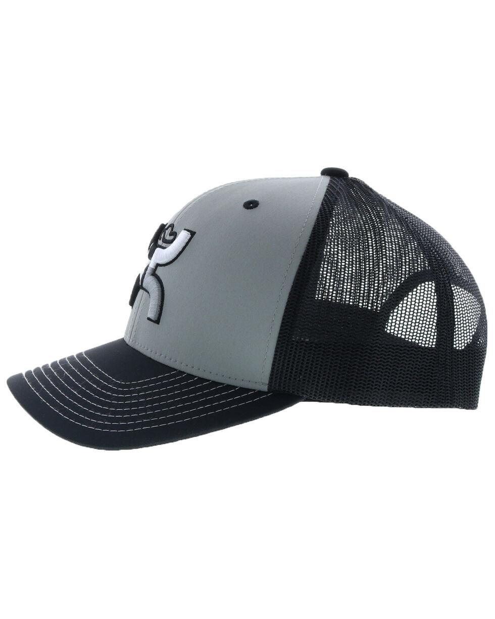 HOOey Men's Grey Texican Trucker Cap, Grey, hi-res