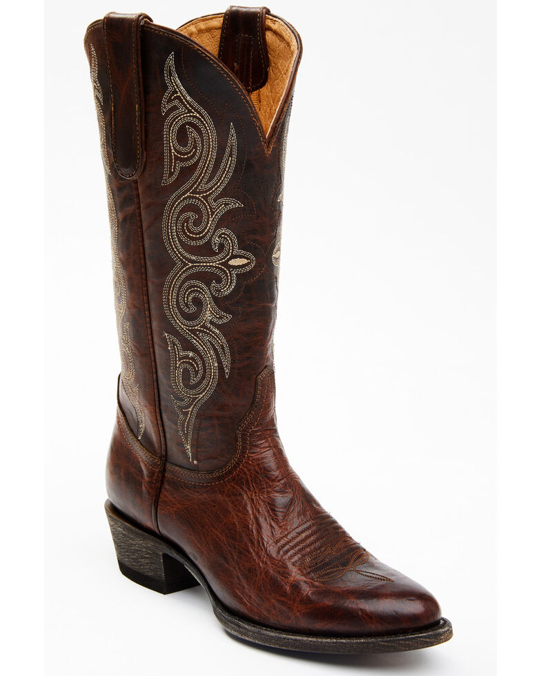 Idyllwind Women's Rogue Western Performance Boots - Round Toe, Brown, hi-res