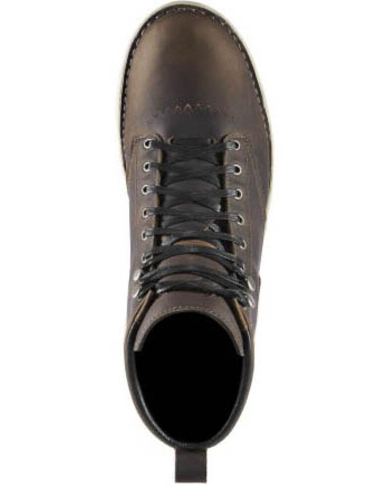 Danner Men's 917 Logger Boots - Soft Toe, Dark Brown, hi-res