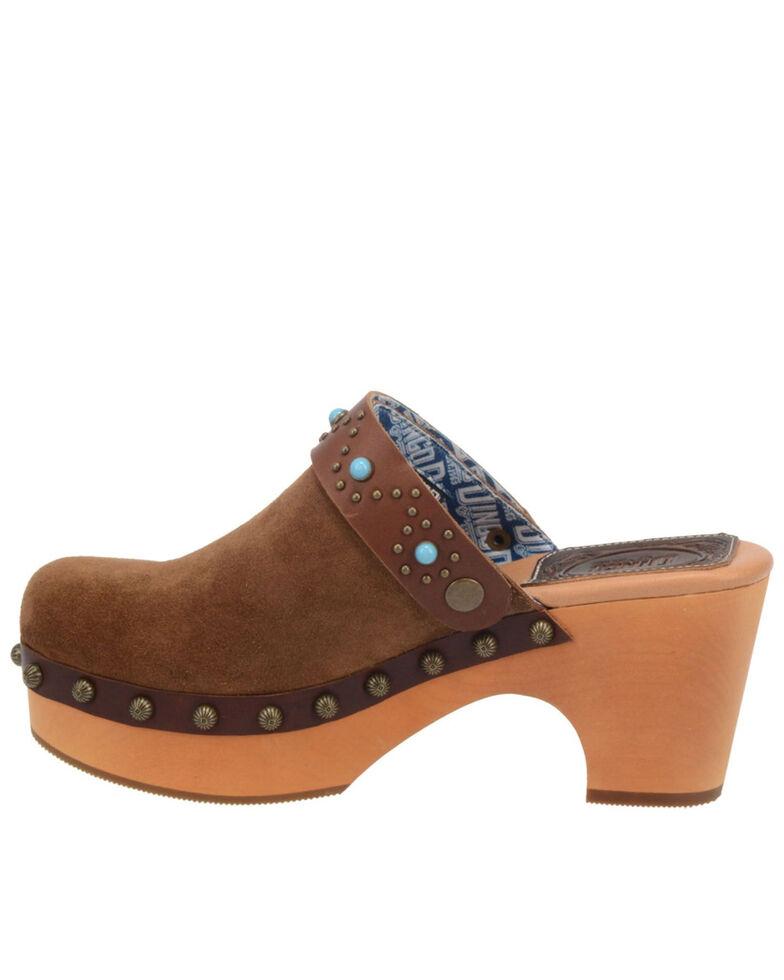 Dingo Women's Woodstock Fashion Booties - Round Toe, Brown, hi-res