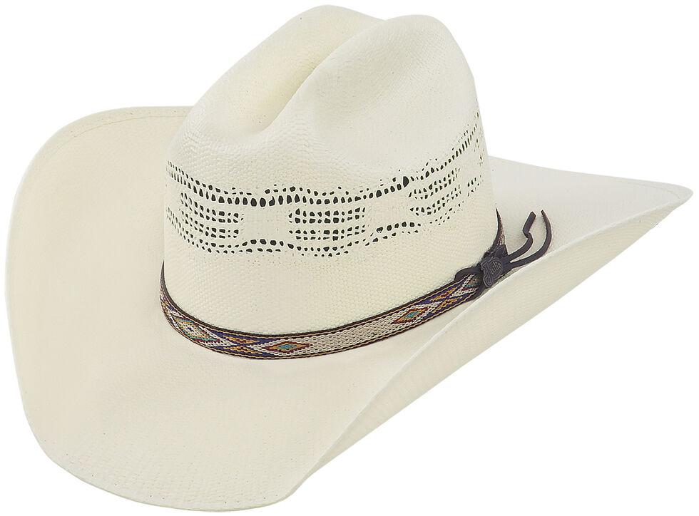 Justin 20X Pueblo Straw Cowboy Hat, Natural, hi-res