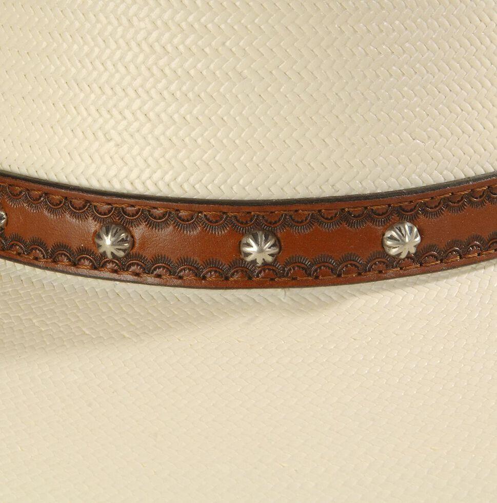 Larry Mahan Browning 10X Straw Cowboy Hat, Ivory, hi-res