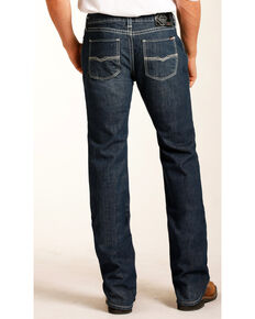 Rock & Roll Cowboy Men's Pistol Flame Resistant Jeans - Straight Leg, Blue, hi-res