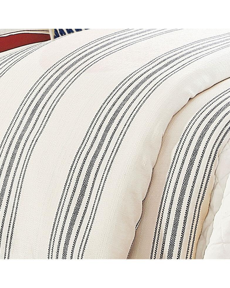 HiEnd Accent Navy Prescott Stripe Duvet - Super Queen, Navy, hi-res