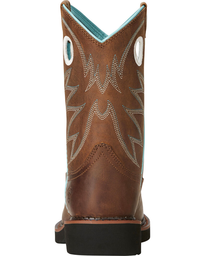 b64b073649e Ariat Fatbaby Girls' Probably Cowgirl Boots - Round Toe