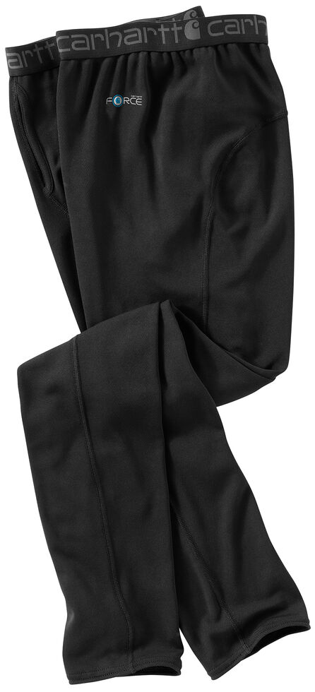 Carhartt Men's Base Force Cool Weather Work Pants, Black, hi-res