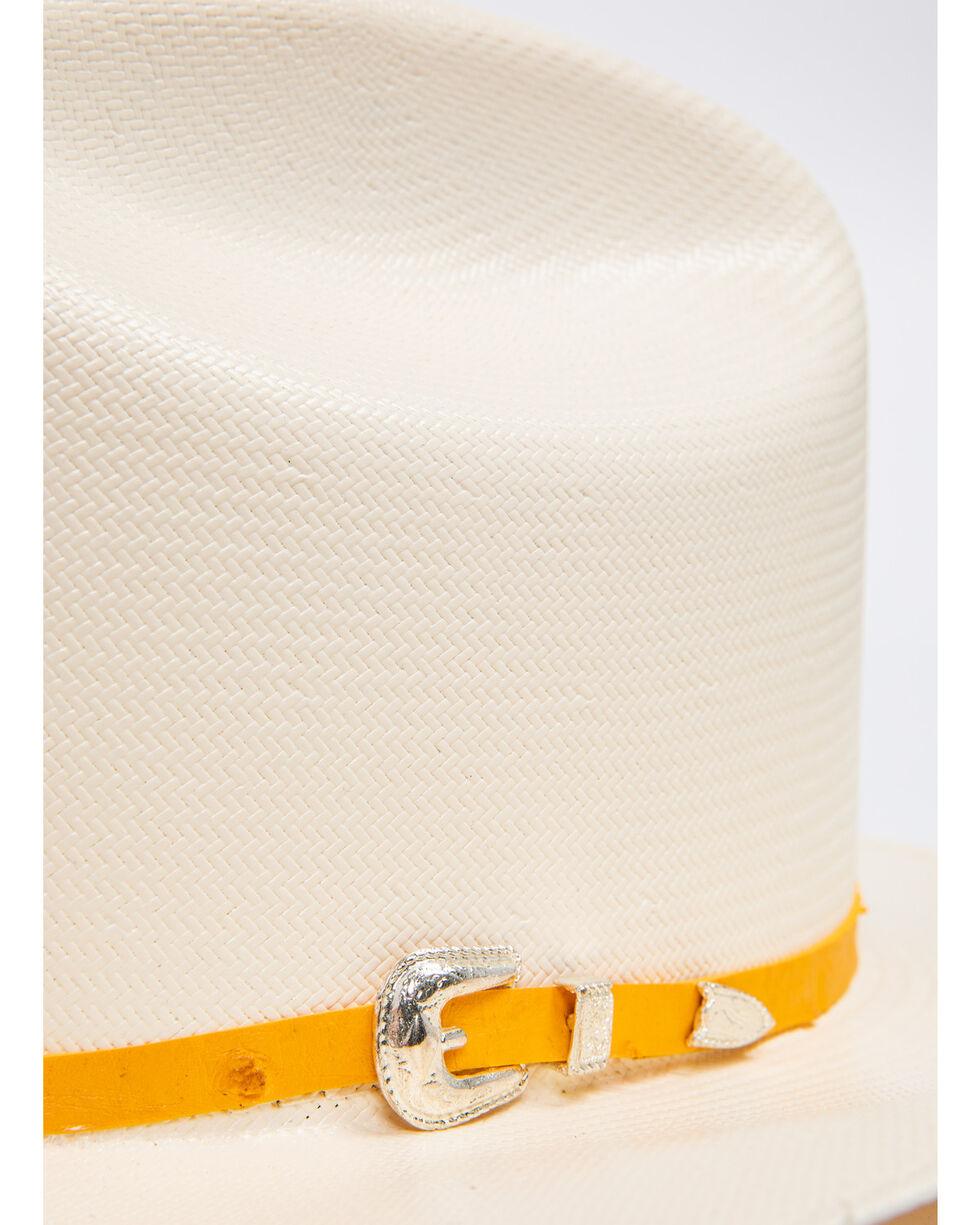 Cody James Men's Panama Faux Ostrich Buttercup Marlboro Cowboy Hat, Natural, hi-res