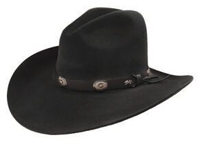 50c76b58aabf10 Bailey Men's Tombstone Black Western Hat