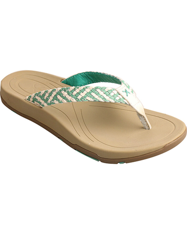 a91cdbe7705a Twisted X Women s Woven Strap Sandal - Country Outfitter