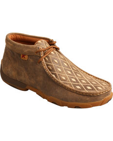 0665cb36d81 Twisted X Women s Tan Diamond Driving Mocs - Moc Toe