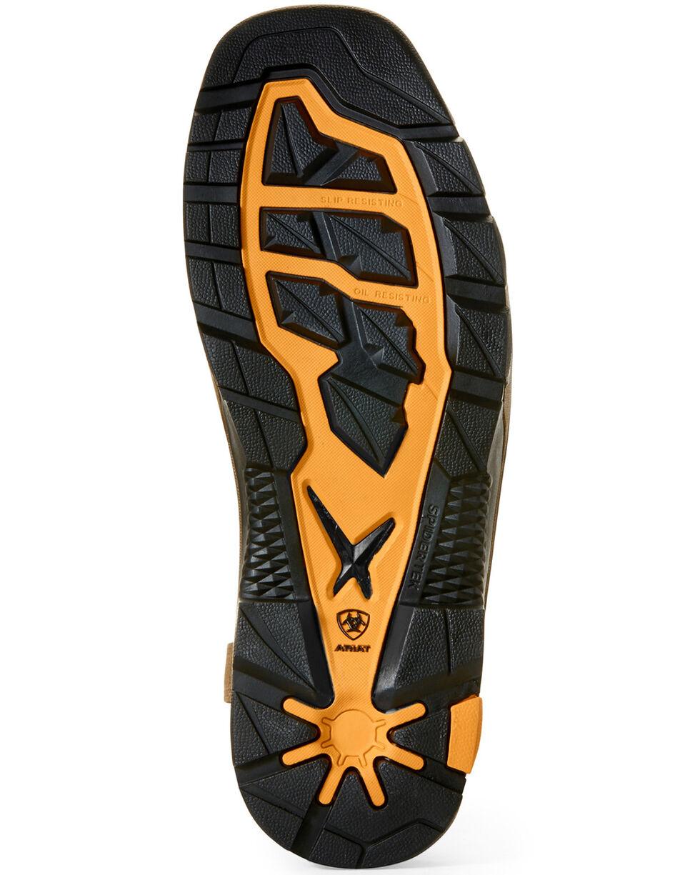 Ariat Men's Intrepid VentTEK Lightning Western Work Boots - Composite Toe, Brown, hi-res