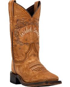 0efb6b8ca009 Laredo Women s Fierce Tan Wild Soul Cowgirl Boots - Square Toe