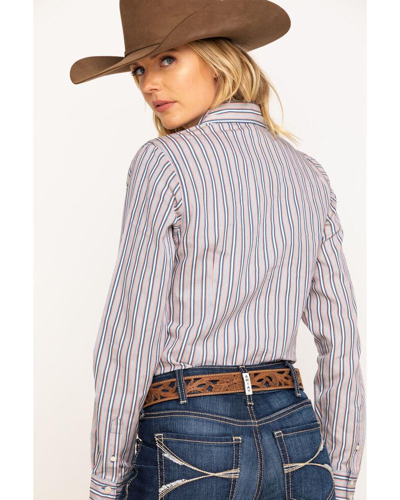 Cinch Women's Stripe Core Long Sleeve Western Shirt, Multi, hi-res