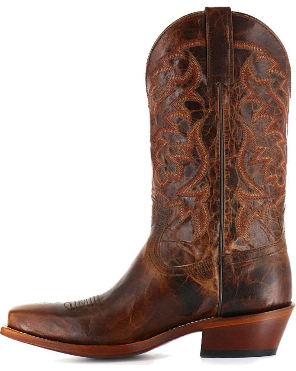 Moonshine Spirit Men's Western Boots - Square Toe, Brown, hi-res