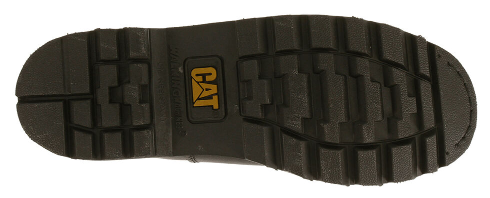 """Caterpillar Colorado 6"""" Lace-Up Work Boots - Round Toe, Black, hi-res"""