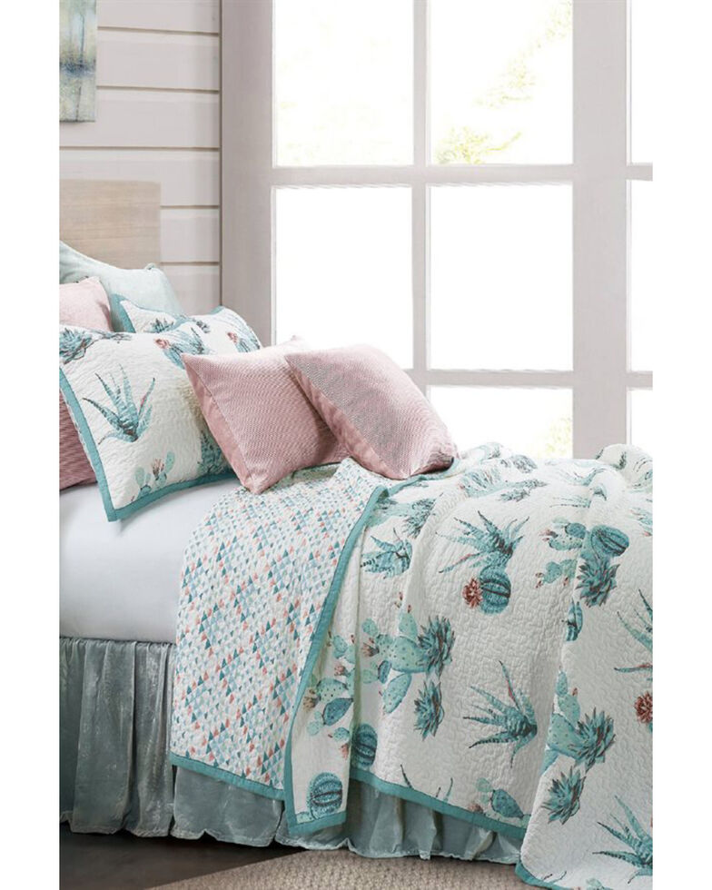 HiEnd Accents Sadie Quilt Set - Twin, Oatmeal, hi-res
