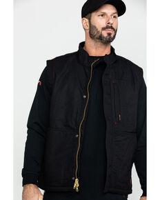 Ariat Men's Black FR Workhorse Vest, Black, hi-res