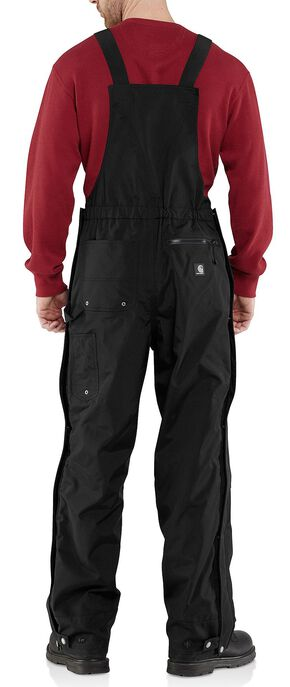 Carhartt Shoreline Bib Overalls - Big & Tall, Black, hi-res