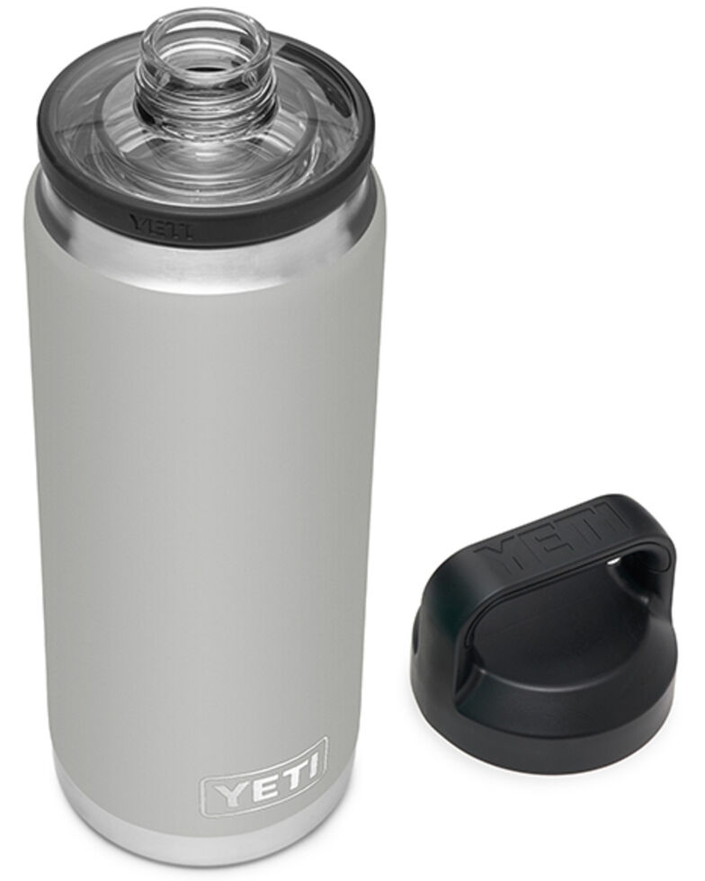 Yeti Rambler 26oz Granite Grey Chug Cap Bottle, Grey, hi-res