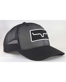 Kimes Ranch Men's Black All Mesh Trucker Cap, Black, hi-res