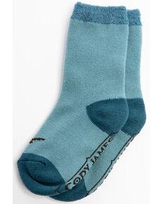 Cody James Boys' Longhorn Cozy Crew Socks, Multi, hi-res