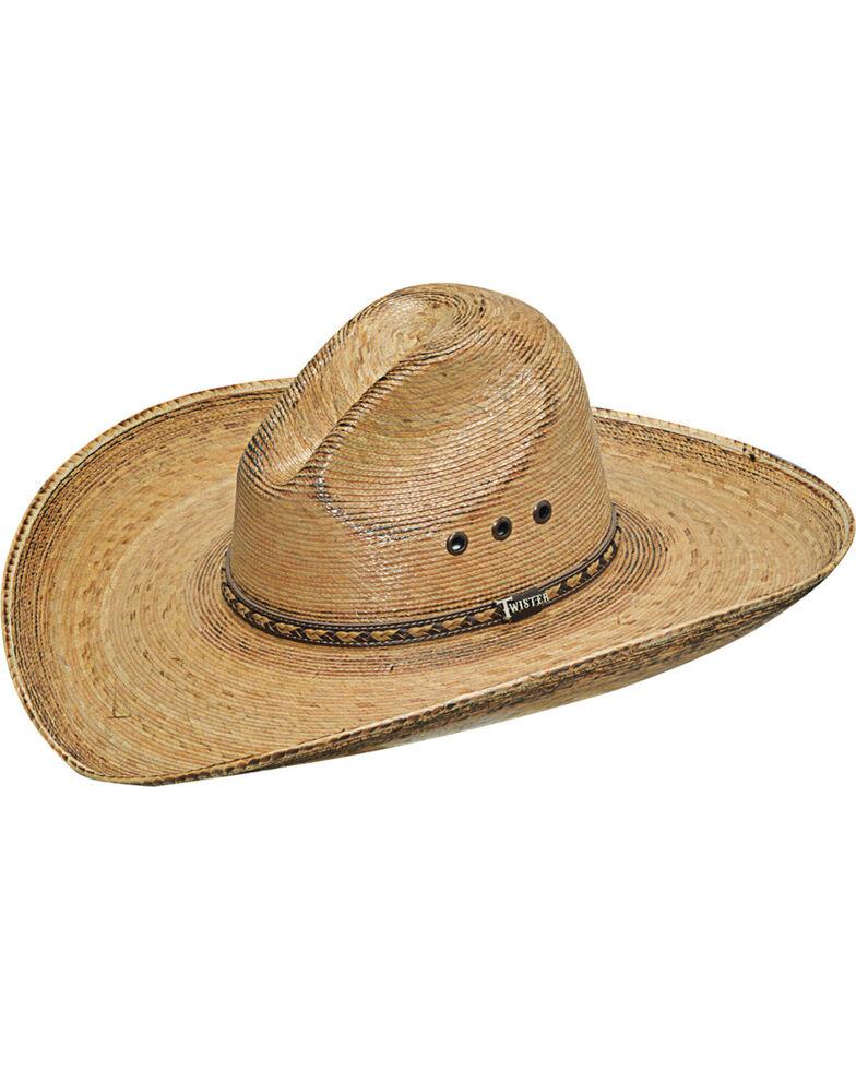 Twister Men's Dark Brown Fired Palm Gus Hat , Dark Brown, hi-res