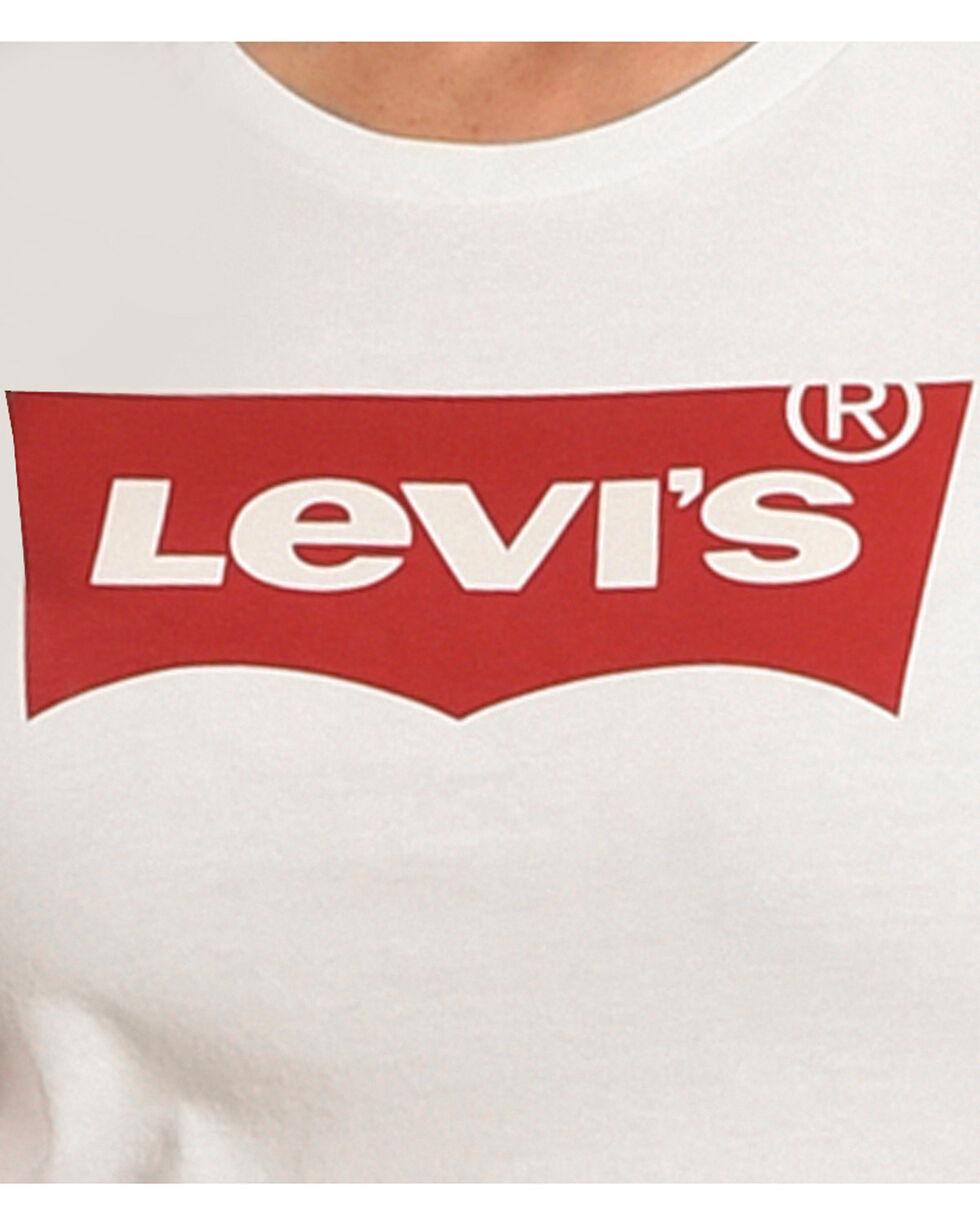 Levi's Women's White Classic Logo Tee , White, hi-res